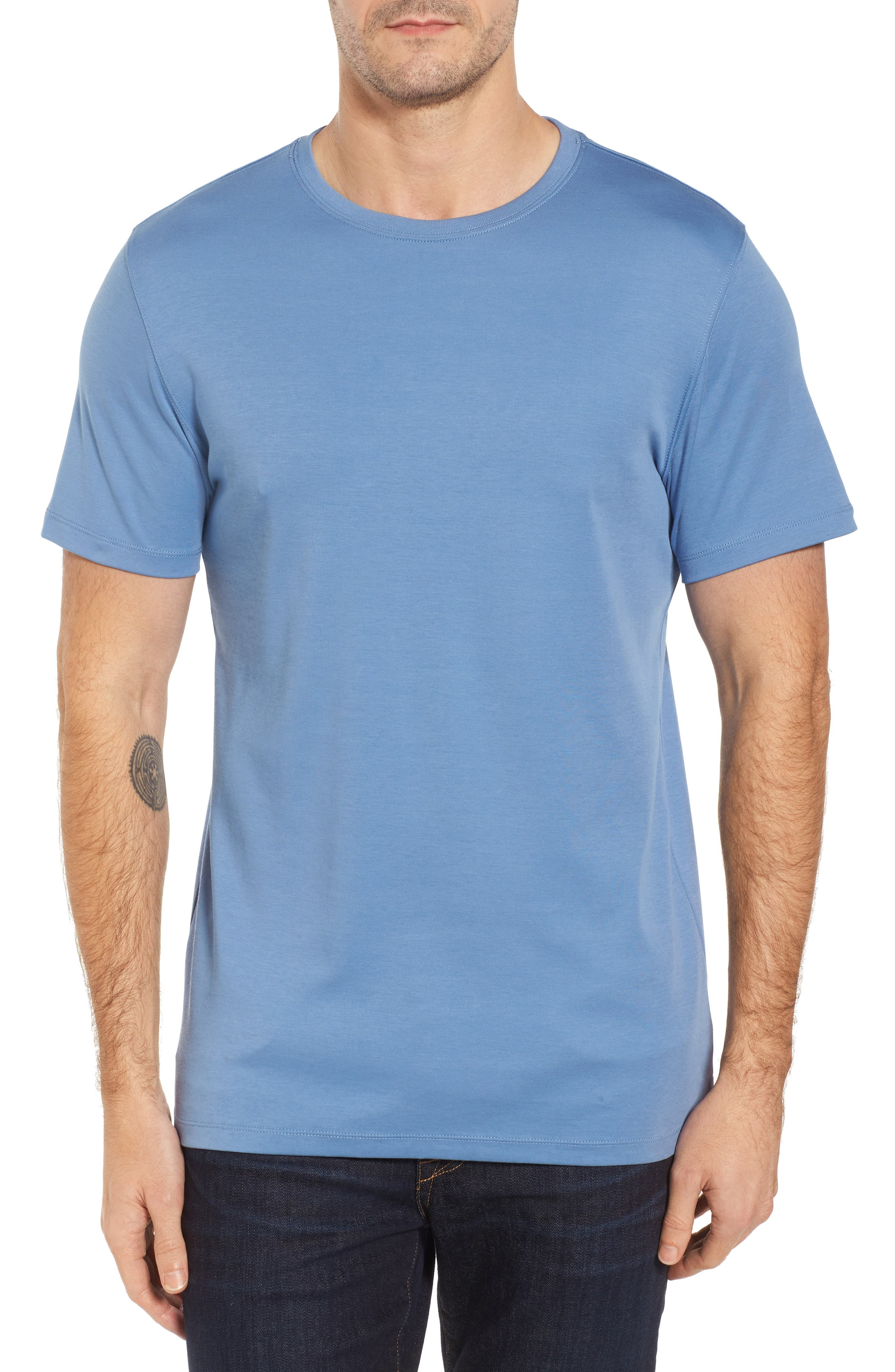 ,                             Georgia Crewneck T-Shirt,                             Main thumbnail 291, color,                             448
