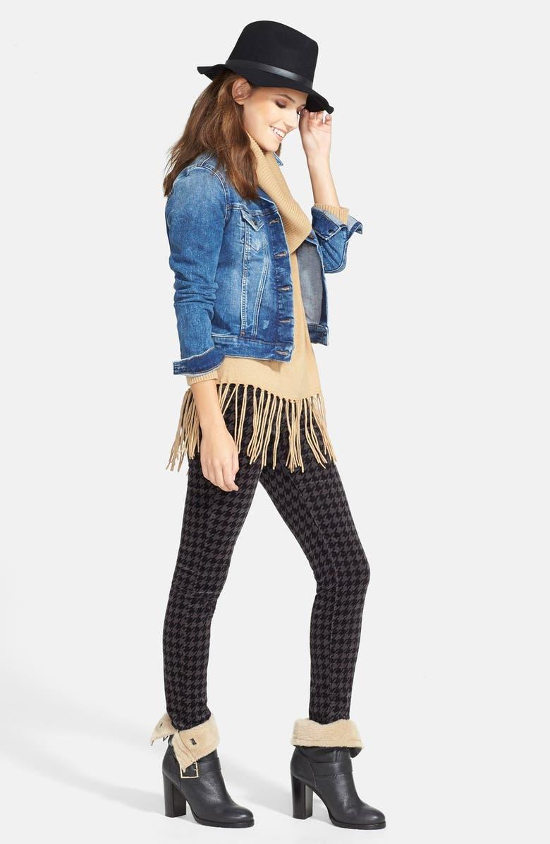 MAVI JEANS 'Samantha' Denim Jacket, Main, color, 450