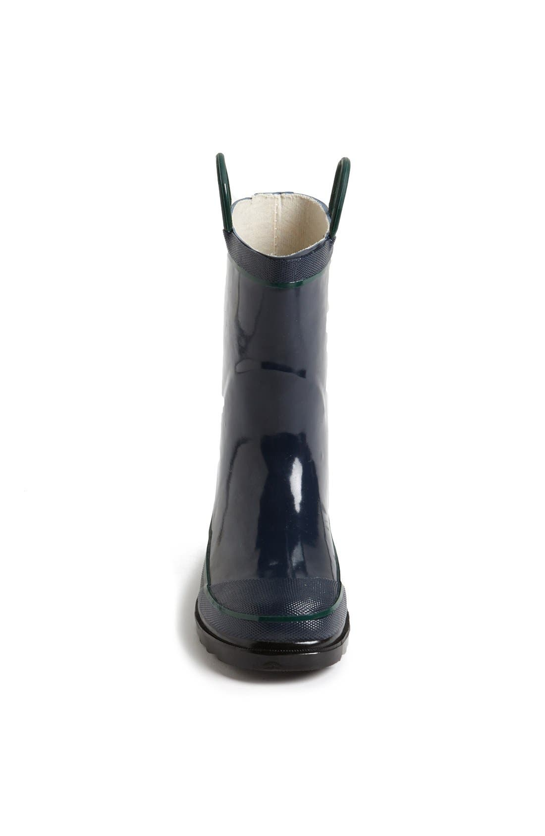 ,                             Firechief 2 Waterproof Rain Boot,                             Alternate thumbnail 4, color,                             NAVY