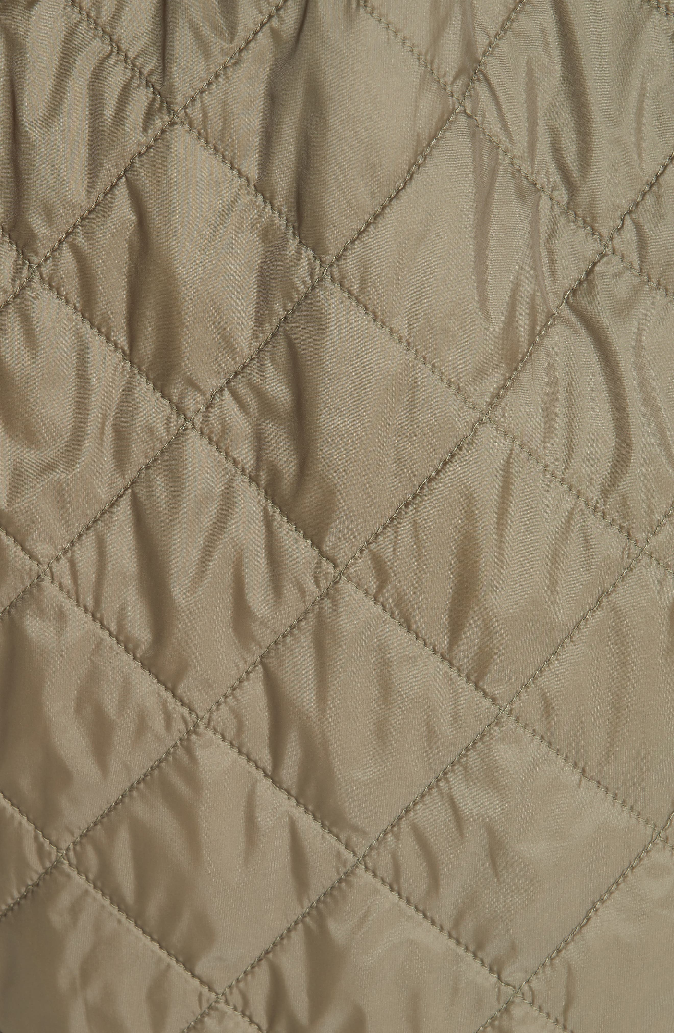 ,                             Coleraine Quilted Drawstring Jacket,                             Alternate thumbnail 7, color,                             CADET GREEN