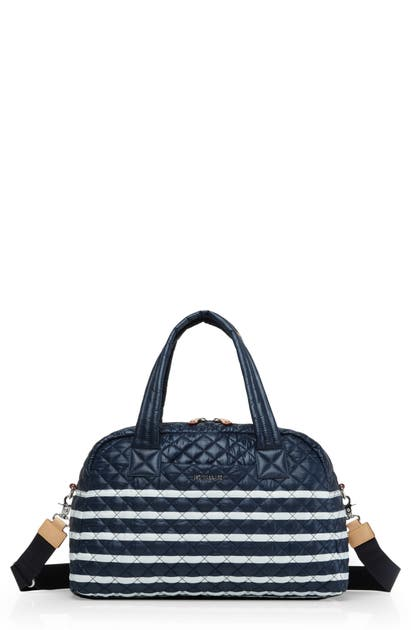 Mz Wallace Travel JIMMY TRAVEL BAG - BLUE