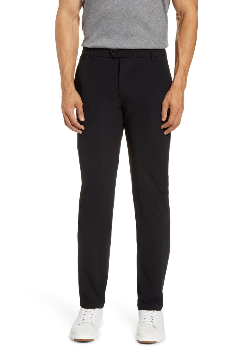 GREYSON Montauk Slim Straight Stretch Nylon Technical Pants, Main, color, SHEPHERD