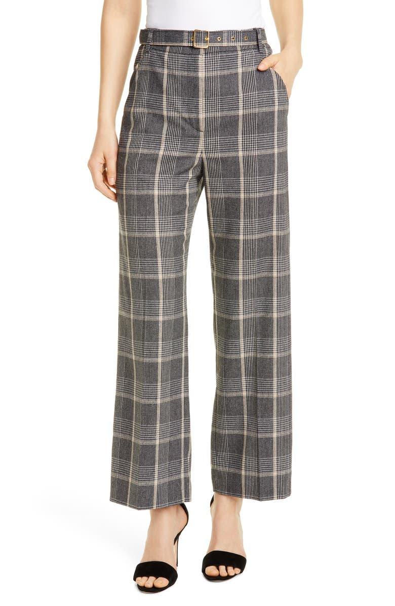 SEVENTY Galles Plaid Suit Pants, Main, color, 020
