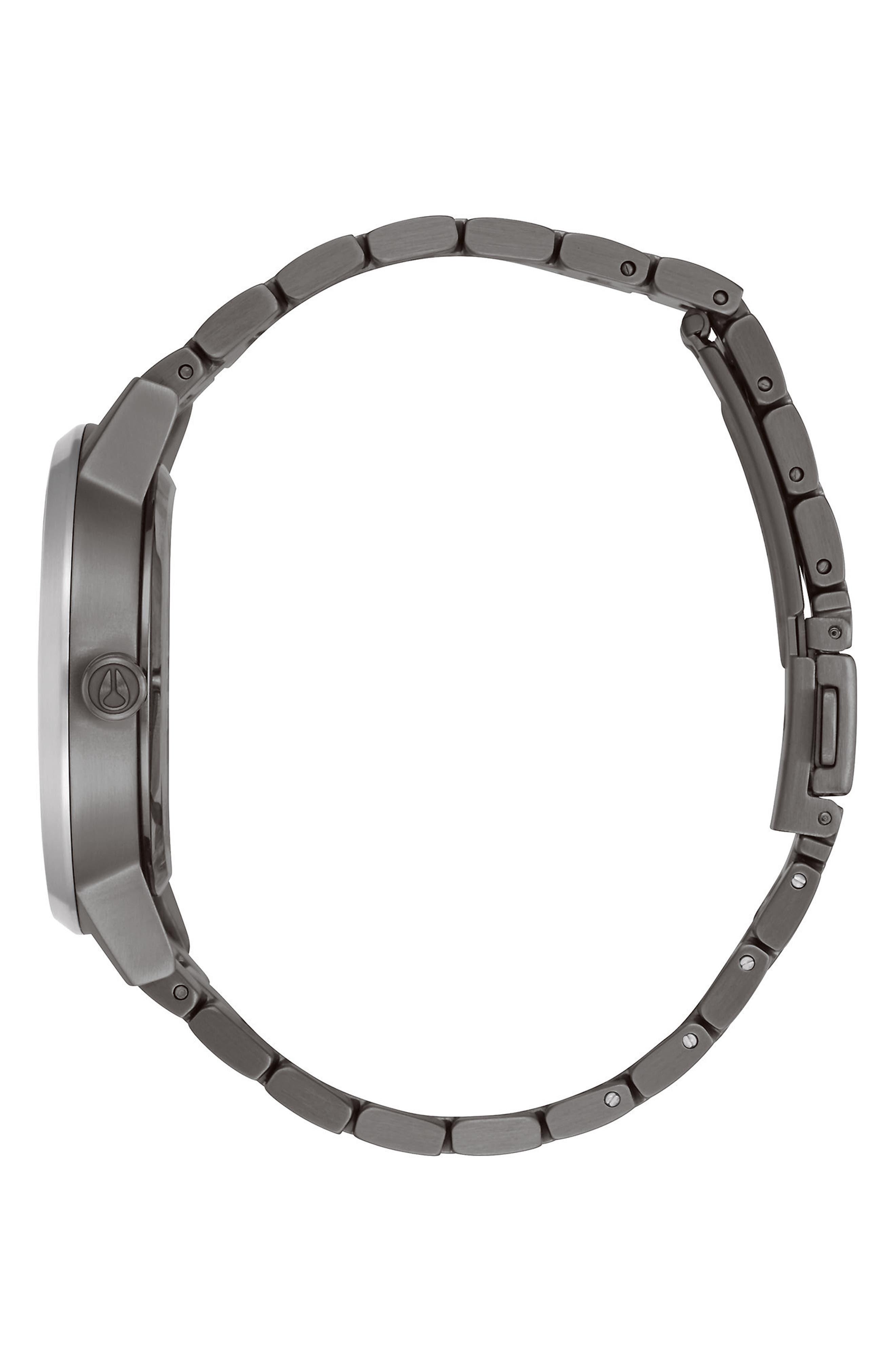 ,                             'The Kensington' Leather Strap Watch, 37mm,                             Alternate thumbnail 3, color,                             041