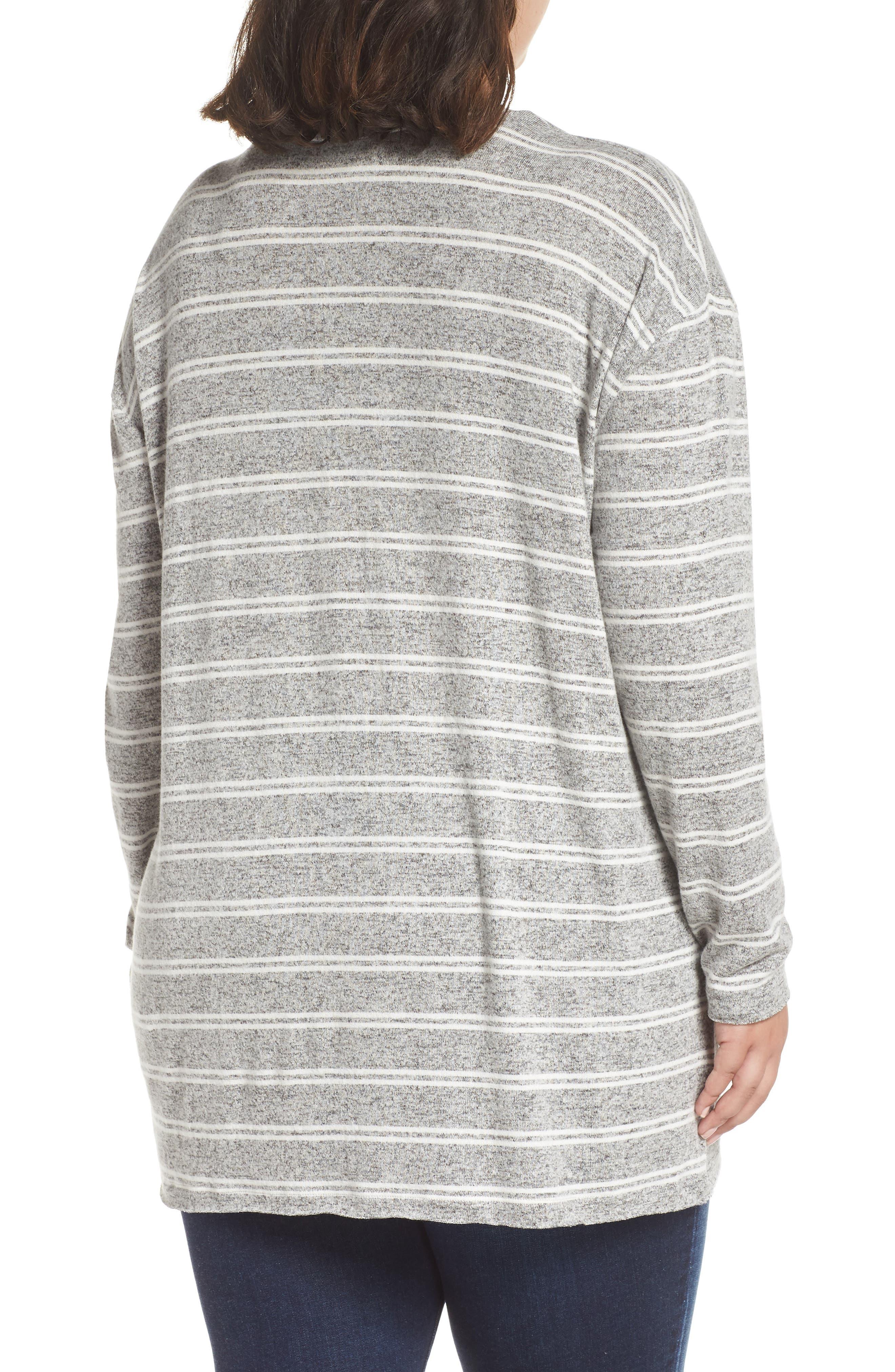 ,                             Cozy V-Neck Sweater,                             Alternate thumbnail 4, color,                             050