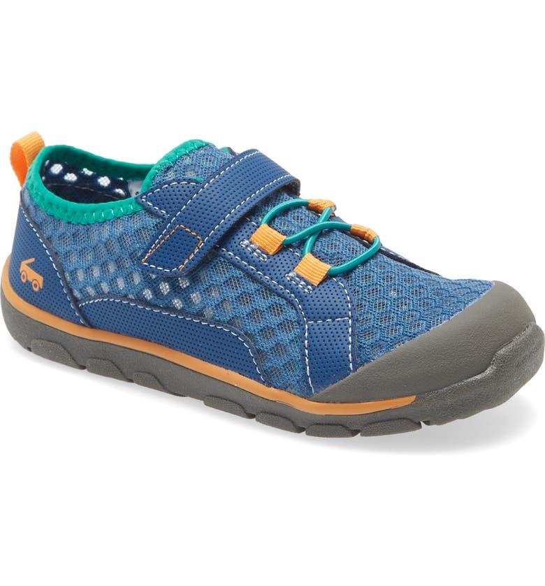 SEE KAI RUN Anker Sport Sandal, Main, color, NAVY/ TEAL