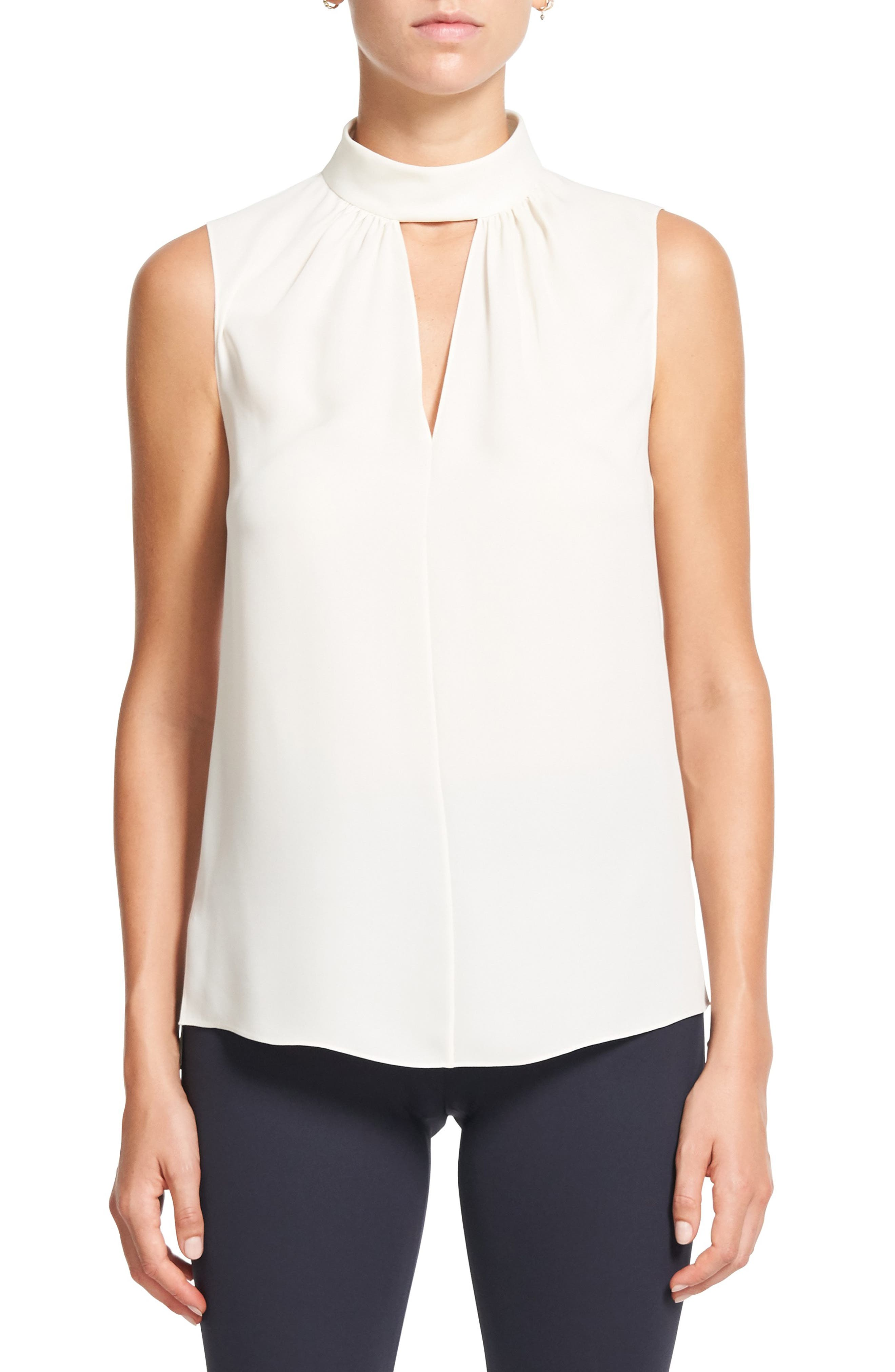 Theory Silk Shell Top | Nordstrom
