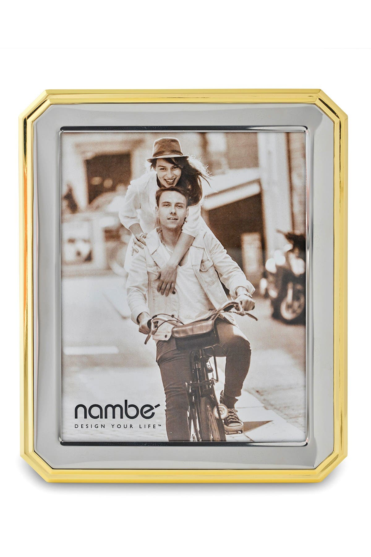 Image of Nambe Gleason Photo Frame, 8x10