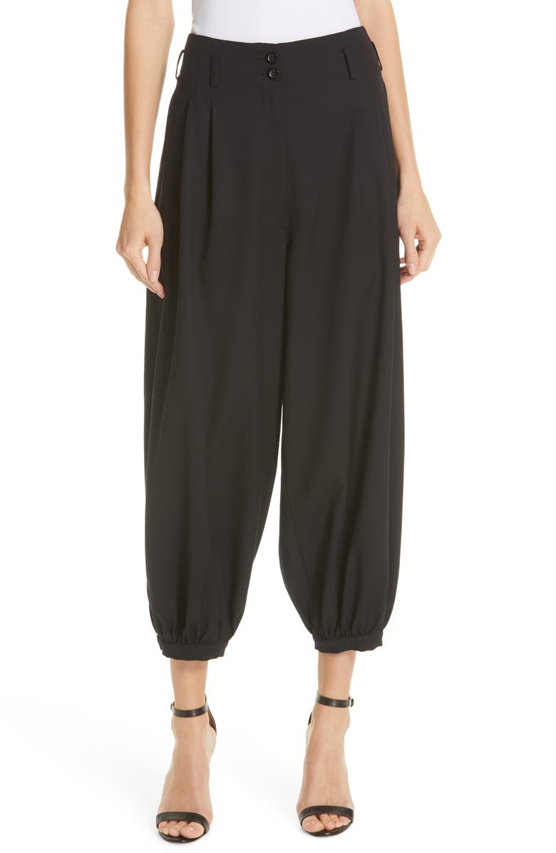 NILI LOTAN Wynona Harem Pants, Main, color, 003