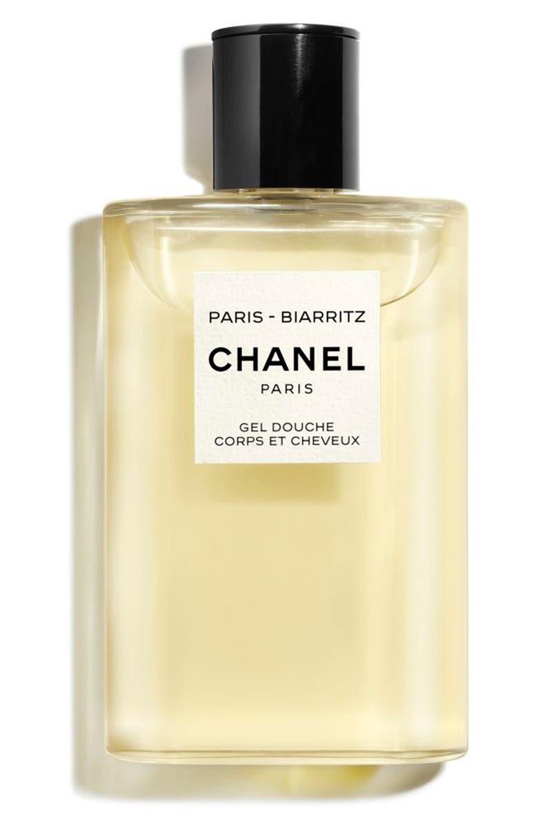 CHANEL LES EAUX DE CHANEL PARIS-BIARRITZ Perfumed Hair and Body Shower Gel, Main, color, NO COLOR
