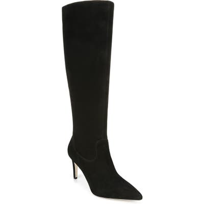Via Spiga Garance Knee High Boot- Black