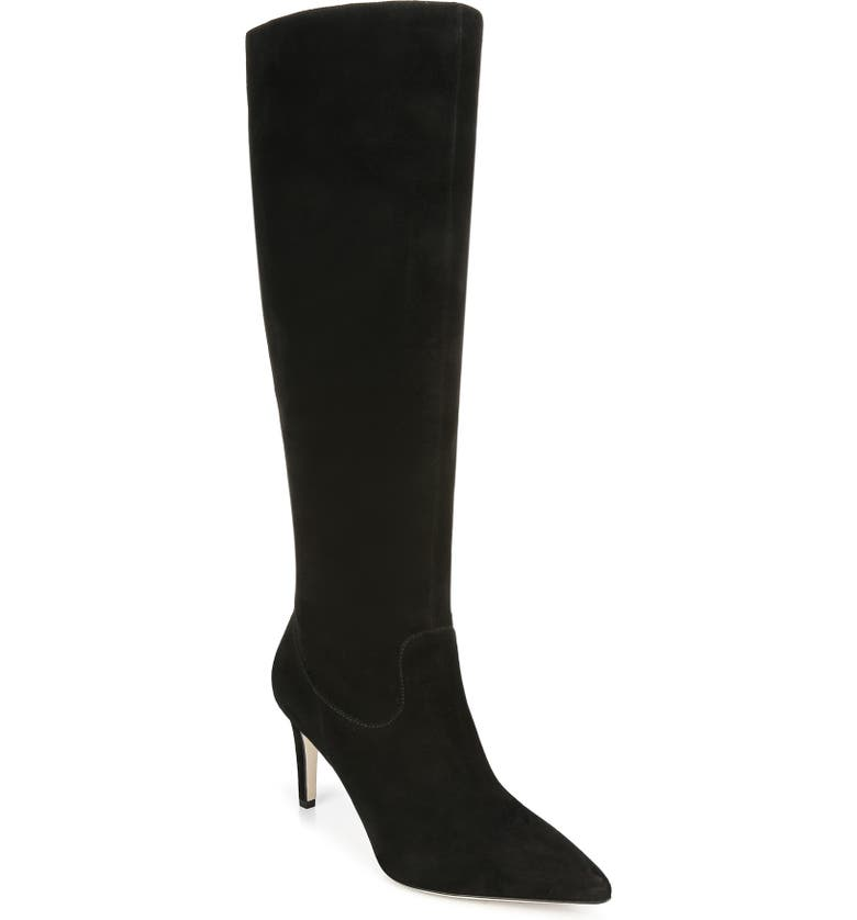 VIA SPIGA Garance Knee High Boot, Main, color, 001