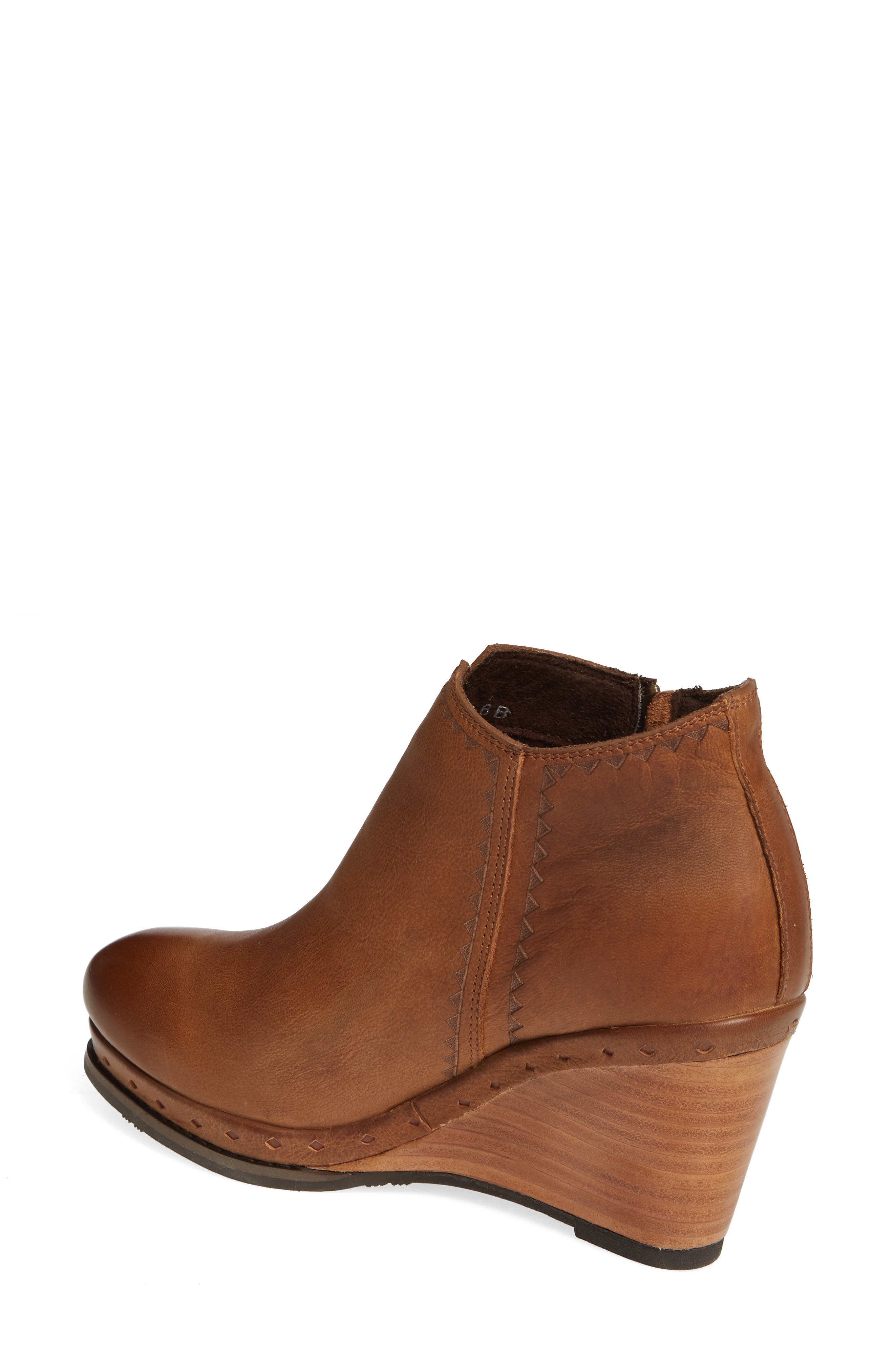 ,                             Graceland Wedge Bootie,                             Alternate thumbnail 2, color,                             OXFORD TAN LEATHER