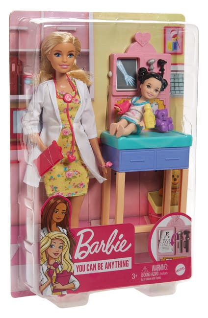Image of Mattel Barbie Pediatrician Doll