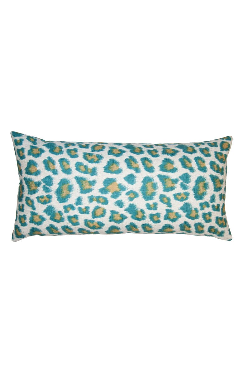 SQUARE FEATHERS Riviera Cheetah Accent Pillow, Main, color, 440