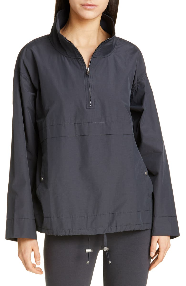 EILEEN FISHER Stand Collar Anorak, Main, color, 025