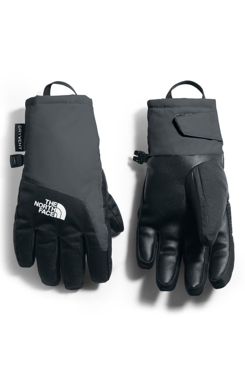THE NORTH FACE Youth DryVent<sup>™</sup> Gloves, Main, color, ASPHALT GREY