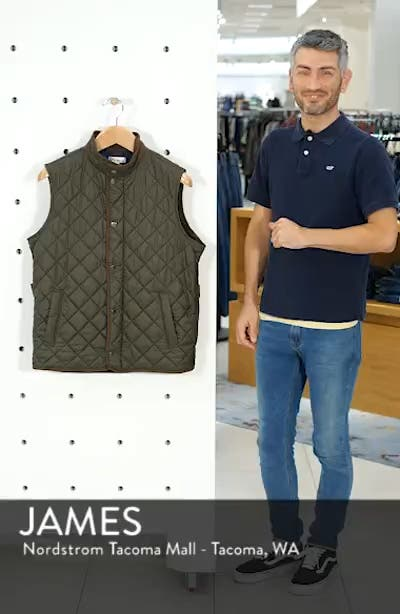 Essex Quilted Vest, sales video thumbnail