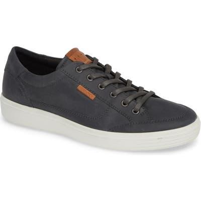 Ecco Soft 7 Long Lace Sneaker - Grey