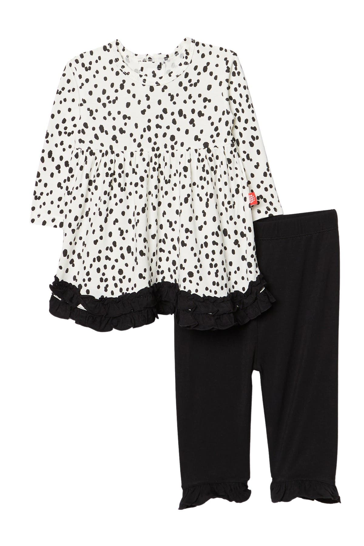 Image of MAGNETIC ME Seeing Spots Magnetic Closure Dress & Pants 2-Piece Set