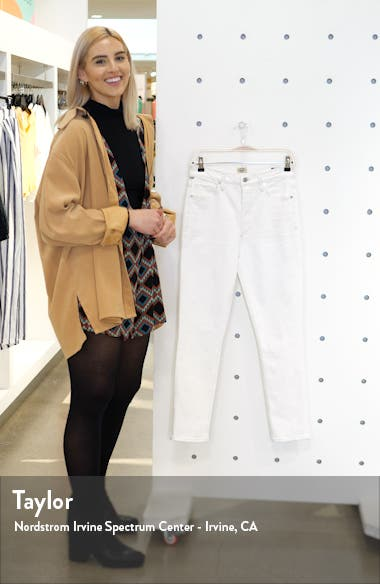 Olivia High Waist Slim Jeans, sales video thumbnail