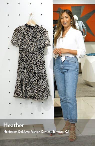 Ruffled Fit & Flare Dress, sales video thumbnail