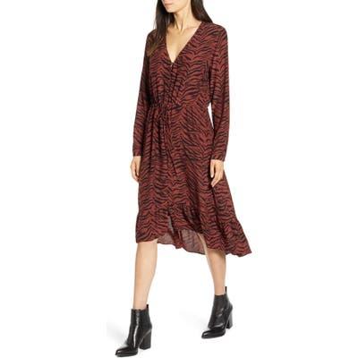 Rails Jade High/low Ruffle Hem Dress