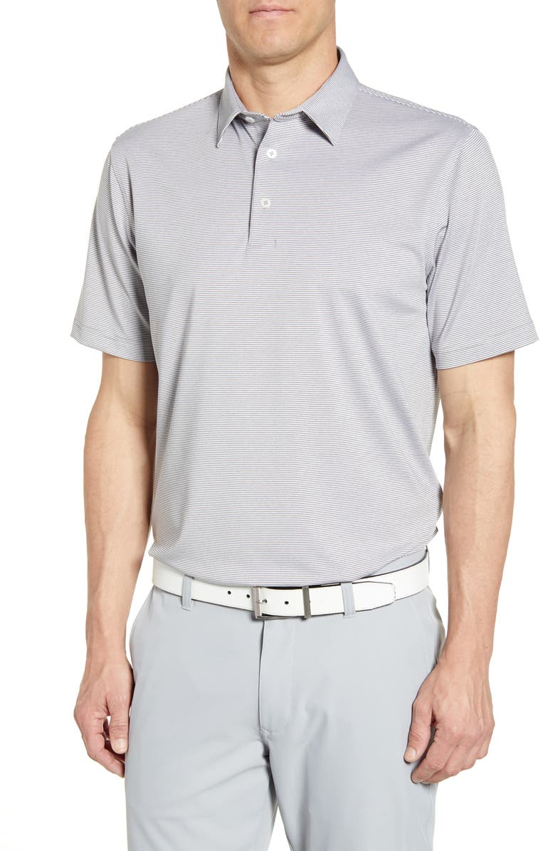 JOHNNIE-O Lyndon Classic Fit Polo, Main, color, METEOR