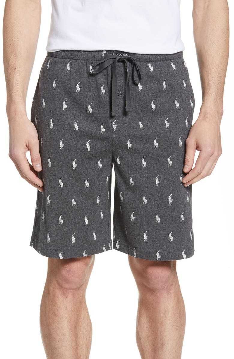 Polo Ralph Lauren Pony Print Lounge Shorts