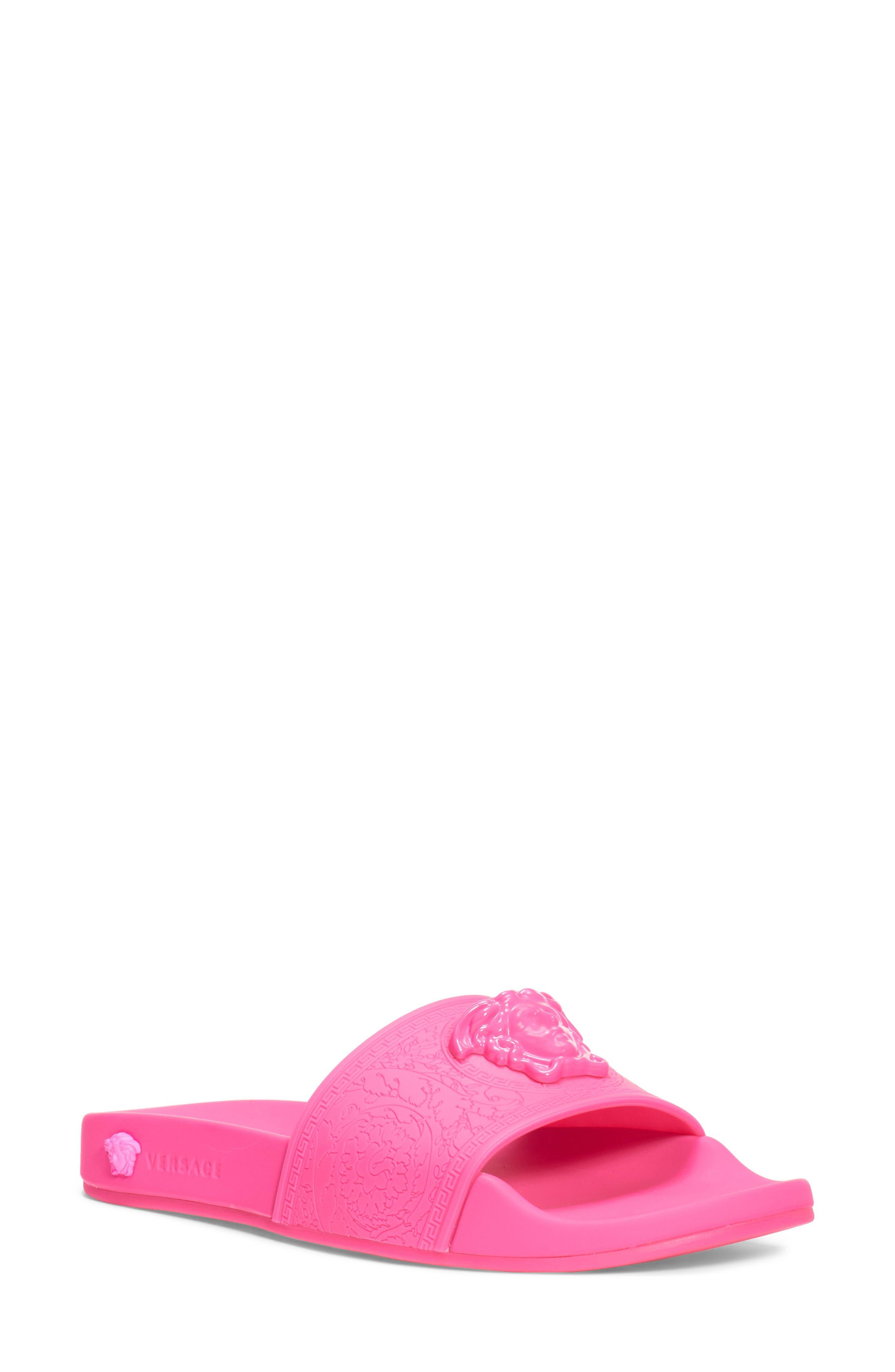 Versace Slippers Medusa Palazzo Slide Sandal
