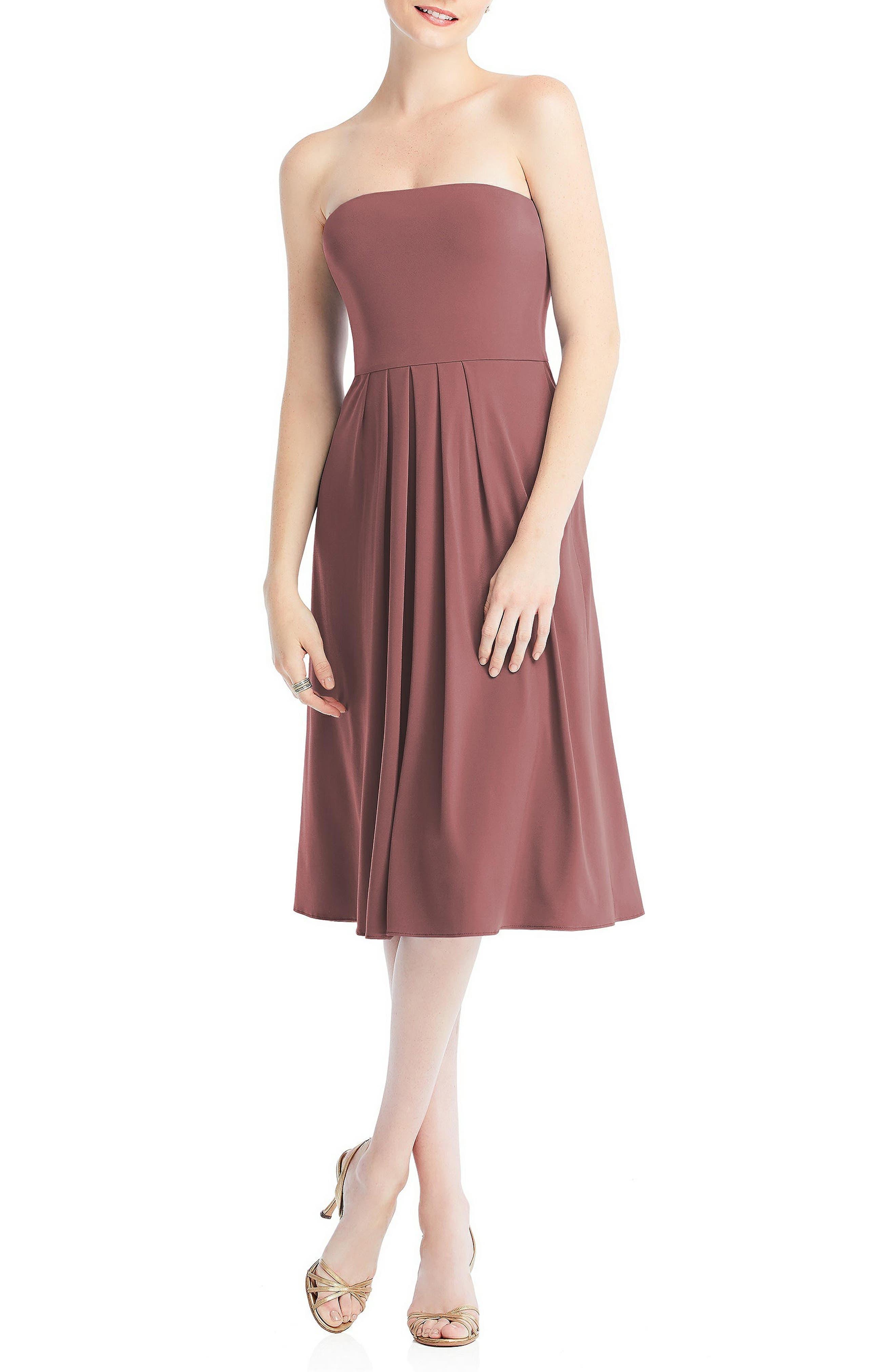 Multi-Way Loop Fit & Flare Dress