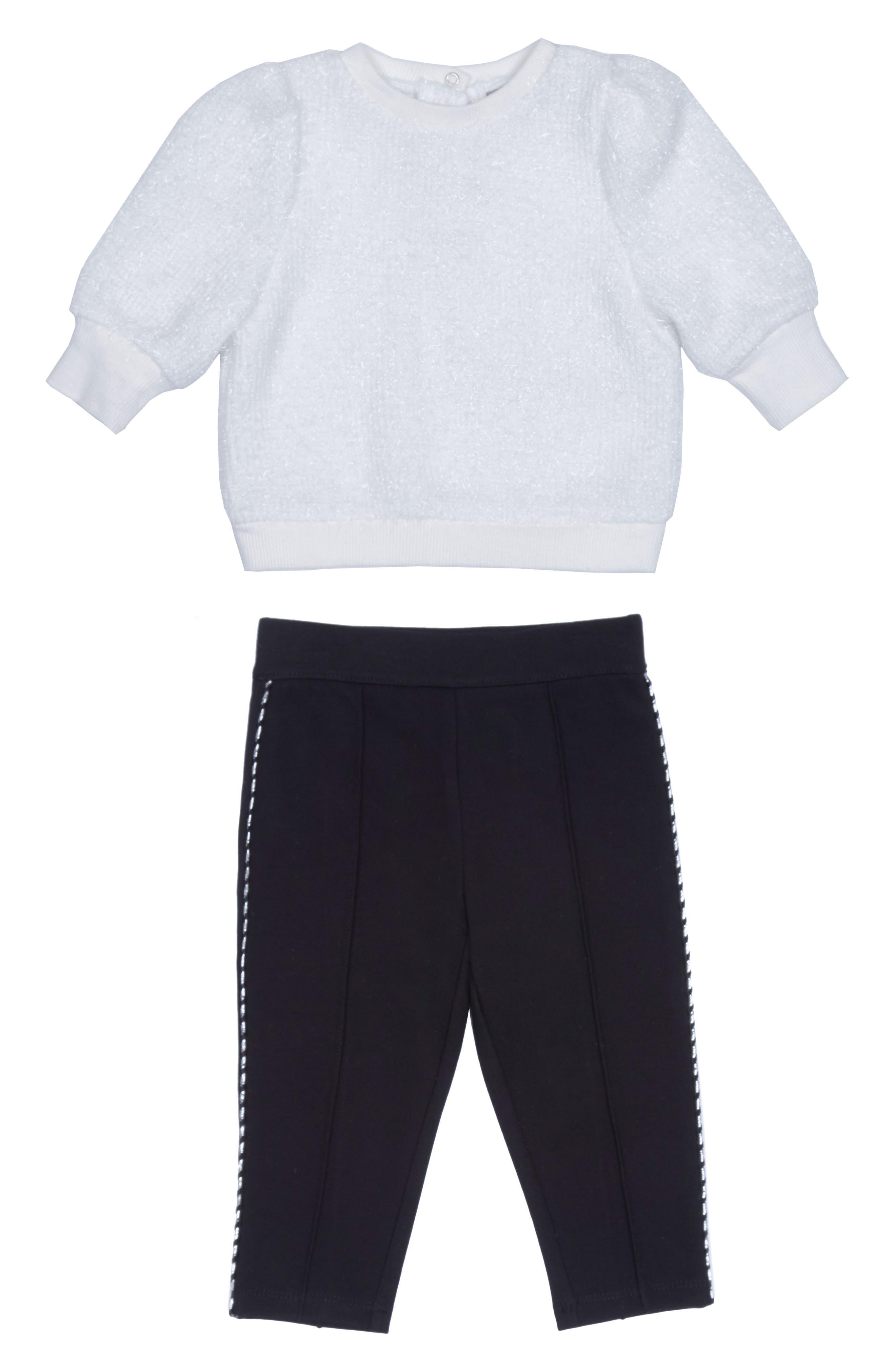 Image of Habitual Kids Kori Fuzzy Knit Sweater 2-Piece Set