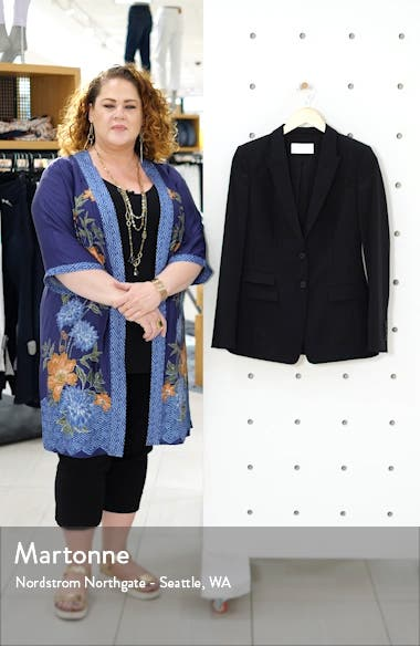 Juicylara Tropical Stretch Wool Suit Jacket, sales video thumbnail