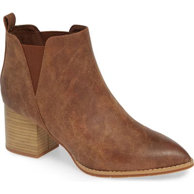 Bc Footwear Depth Vegan Bootie- Brown
