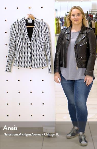 Soundboard Pattern Jersey Jacket, sales video thumbnail