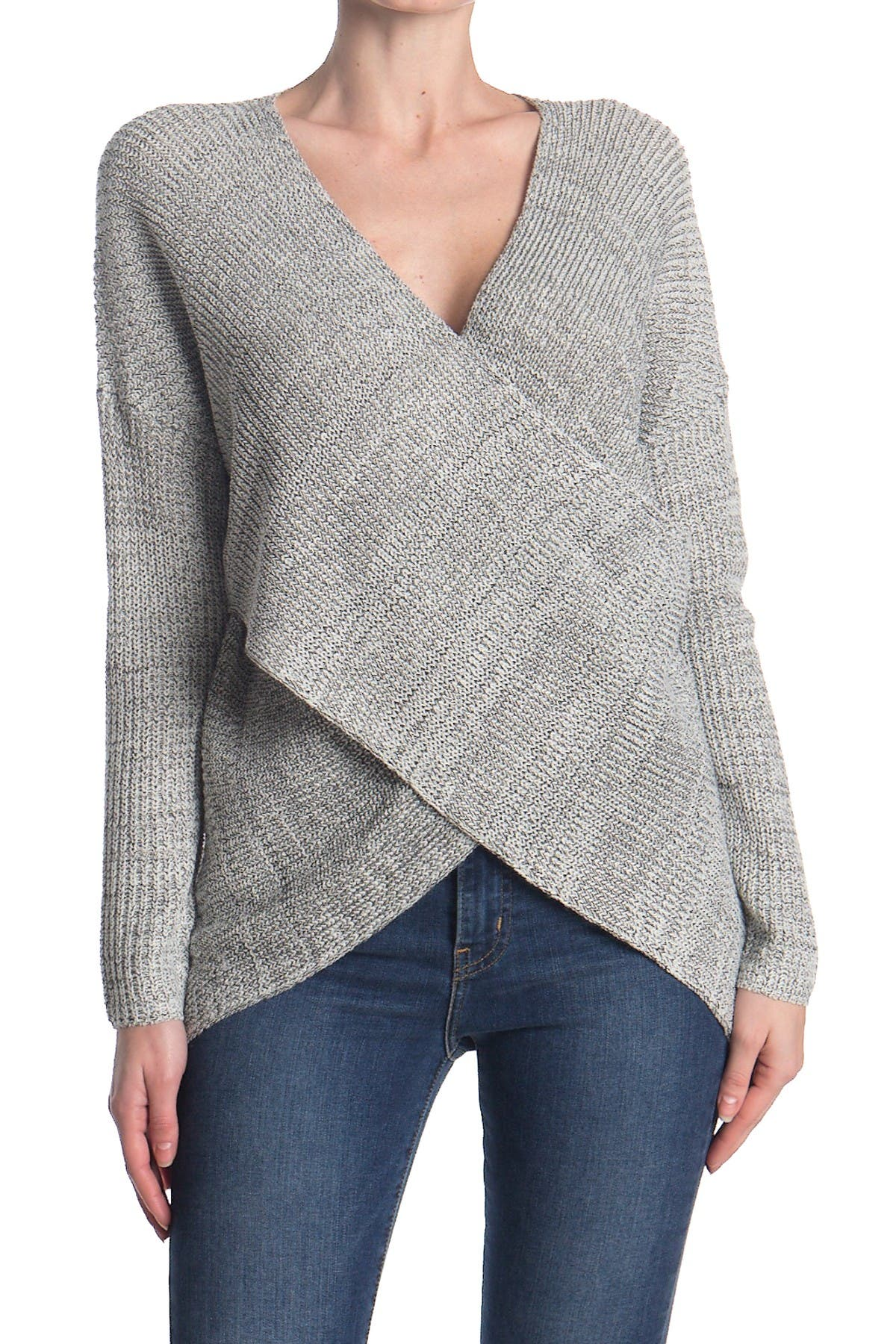 Image of ASTR the Label Wrap Front Sweater