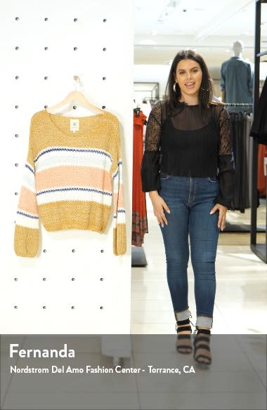 Sunsetters Stripe Sweater, sales video thumbnail