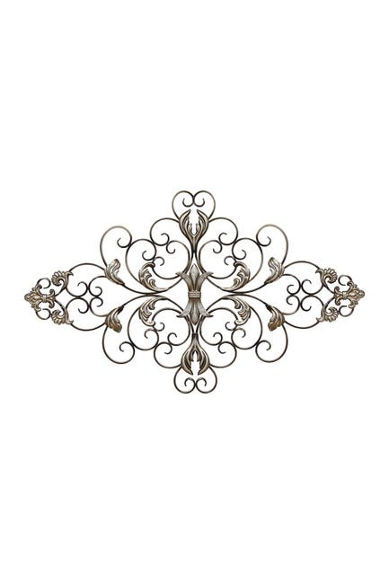 Image of Stratton Home Champagne Ornate Scroll Wall Decor