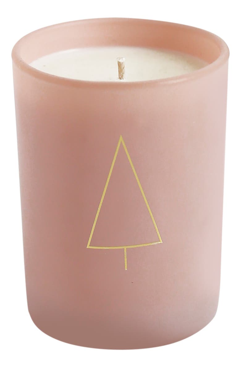 BROOKLYN CANDLE Studio Pink Disco Cypress Candle, Main, color, CYPRESS