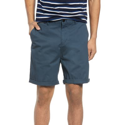 Scotch & Soda Classic Chino Shorts, Blue