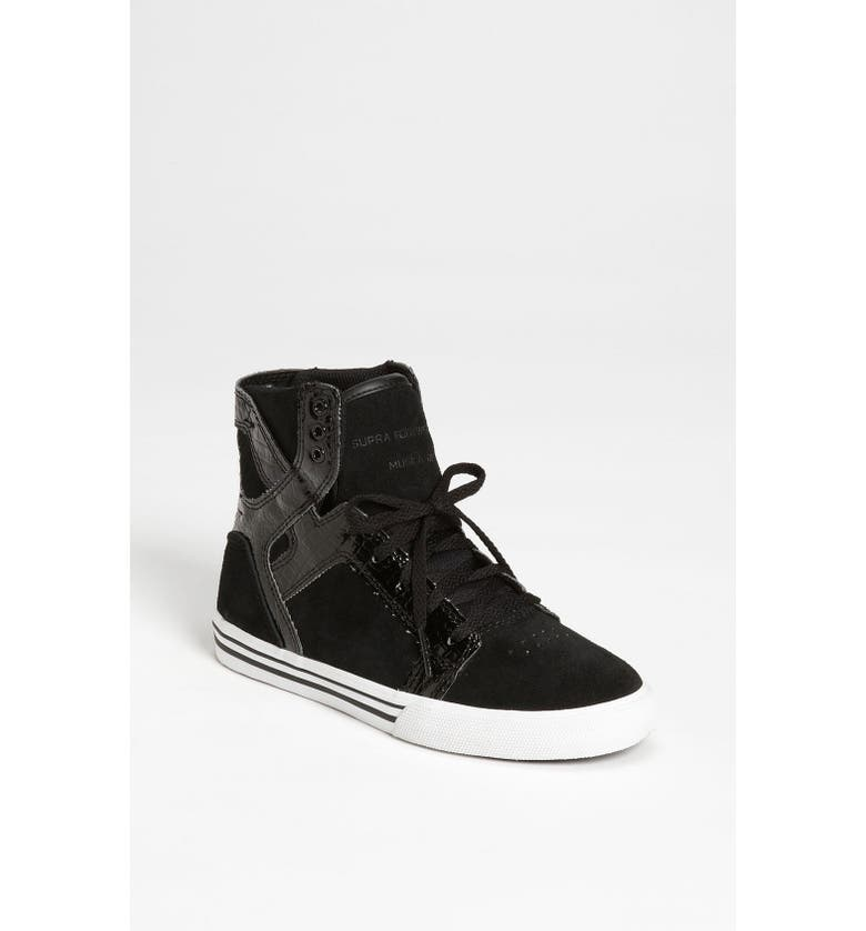 SUPRA 'Skytop' Sneaker, Main, color, 001