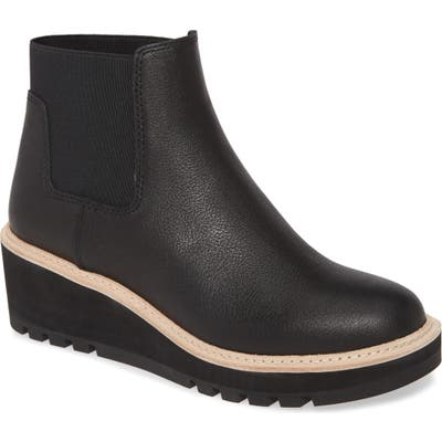 Eileen Fisher Wedge Chelsea Boot, Black