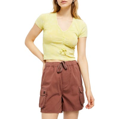 Bdg Urban Outfitters Raff Shorts, Brown