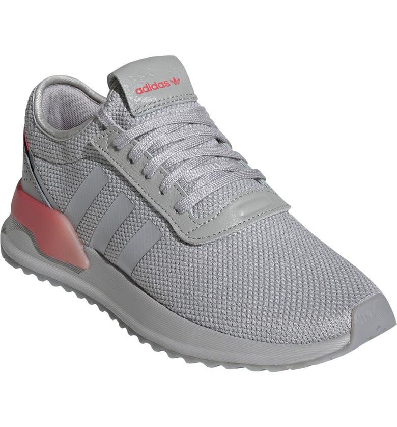 ADIDAS U Path X Sneaker, Main, color, GREY/ SHOCK RED/ NIGHT