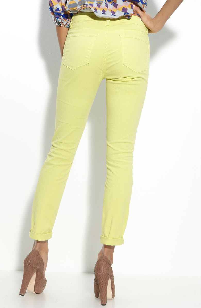 J BRAND Skinny Stretch Twill Pants, Main, color, 331
