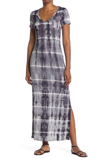 Image of Velvet Torch Tie-Dye One Pocket Maxi Dress