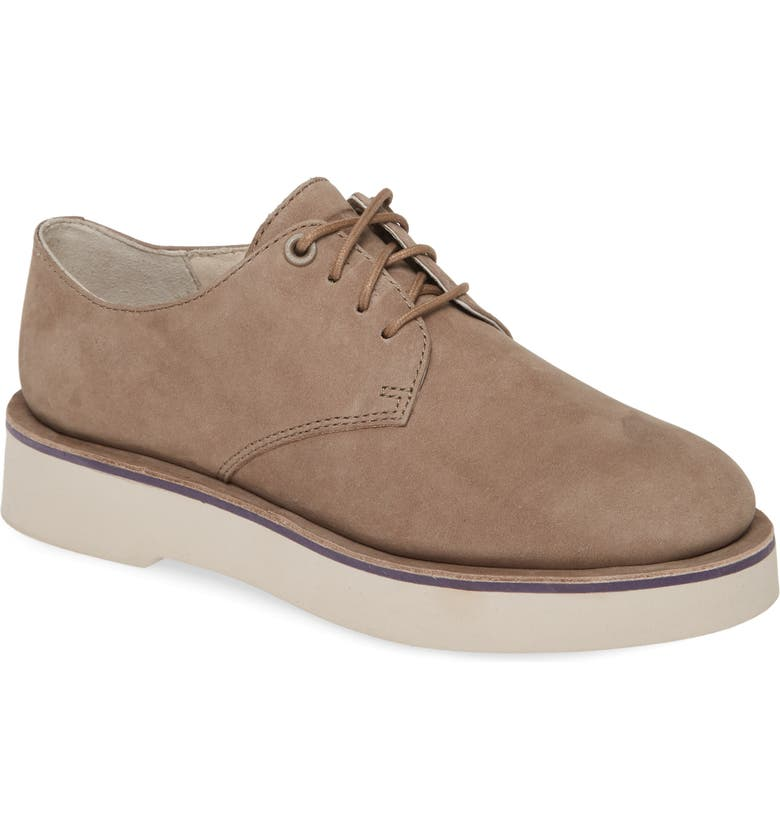 CAMPER Tyra Derby, Main, color, GREY LEATHER