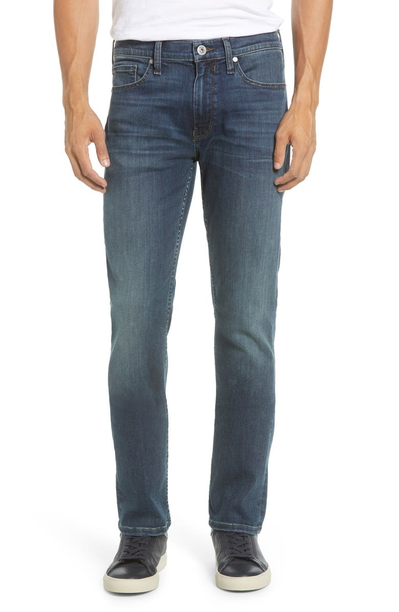 PAIGE Transcend Vintage - Federal Slim Straight Leg Jeans, Main, color, 400