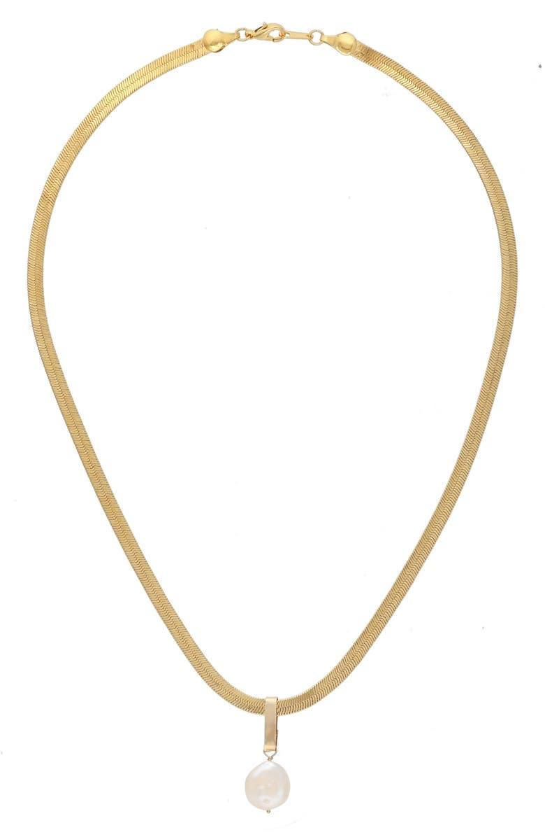 KOZAKH Sam Genuine Pearl Pendant Necklace | Nordstrom