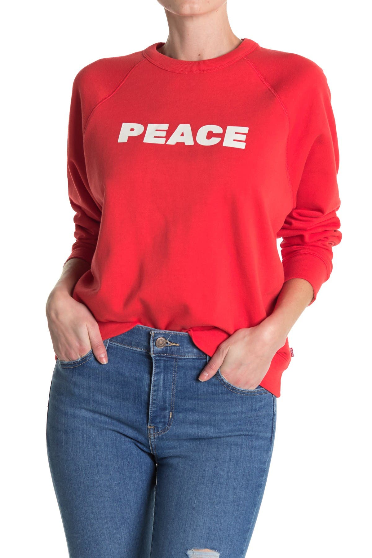 Image of Levi's Everyday Crew Neck Sweatshirt